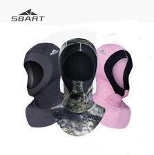 3mm Neoprene Scuba Diving Hat Wetsuit Thermal Hood Divers Cap Camouflage Hoodies