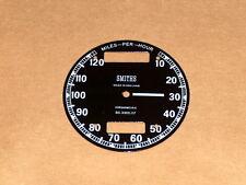 Triumph BSA Norton Smiths Chronometric Speedometer Face SC3303/17