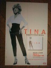 TINA TURNER - AFFICHE PUBLICITAIRE