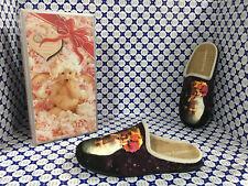 Pantofole Ciniglia Anne Geddes Donna - Bimba Vaso Trasparente - Prugna - 587053
