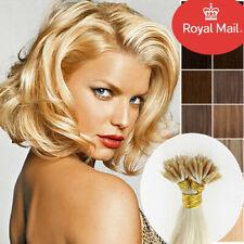 "7A Quality 16""18""20"" Nano Ring Human Hair Extensions 100g Micro Ring Beads"