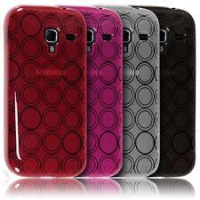 Coque Style Cercle pour Samsung Galaxy Ace 2 i8160 Couleur Translucide