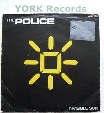 "POLICE - Invisible Sun - Excellent Condition 7"" Single AMS 8164"