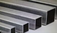aluminium SQUARE hollow bar rod tube box section 13mm 16mm 19mm 25mm 32mm 38mm