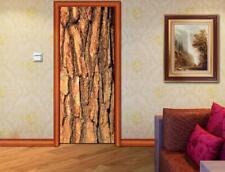 Wood Stem Door Wrap Removable Decal Wall Sticker Mural D179