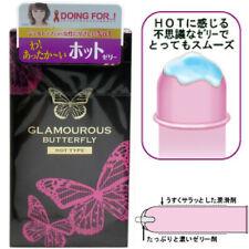 Japan JEX Condom Glamourous Butterfly Hot Heat Warm Pleasure Extra Lubricant