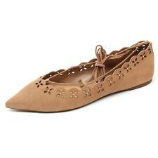 C9860 ballerina donna MICHAEL KORS THALIA FLAT scarpa beige scuro shoe woman c5dd139635e