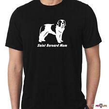 Saint Bernard Mom Tee Shirt st. st