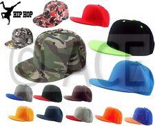 Adults Snapback Flatbrim Trucker Hip Hop Dance Street Baseball Cap Hat