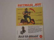 advertising Pubblicità 1976 EROI IN AZIONE MATTEL