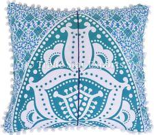 Large Mandala Pillow Case Set Ethnic Cotton Cushion Cover Boho Square Pillow Art