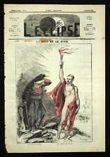 COMUNE DI NAPOLI E DI ROMA Giornale satirico 1869
