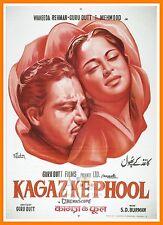 Kaagaz Ke     Bollywood Movie Posters Vintage Classic & Indian Films