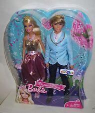 #2721 NRFB Mattel Toys R Us Barbie & Ken Princess & Prince Giftset