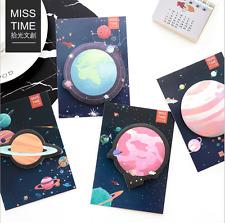 Cosmo Galaxy Planet notas adhesivas página Libreta de notas Post-it marcador Recordatorio Pegatinas Reino Unido