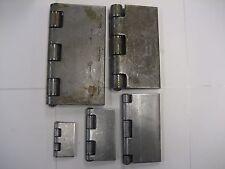 "marlboro Steel Butt Hinges, weld-on, 2"", 3"", 4"", 5"", 6"" . 2 pc-1 pair -Free ship"