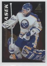 1995-96 Pinnacle Zenith #109 Dominik Hasek Buffalo Sabres Hockey Card