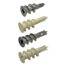Metal or Nylon Wallmate Plasterboard Gyprock Wall Mate Plug Bremick Hobson