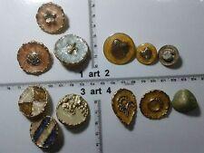1 lotto bottoni gioiello strass smalti perle vetro buttons boutons vintage g8