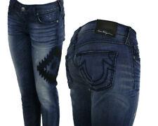 True Religion Jeans Stella aztec embellished indigo skinny star dunes WJBZ25CX0