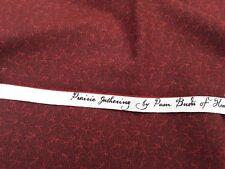 New-100% Cotton-Marcus Fabrics-Prairie Gathering A Pam Buda Design No. 5531 Red