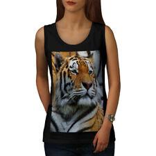 Tiger Photo Wild Animal Women Tank Top NEW | Wellcoda