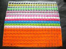 "Keyboard Skin Cover for Lenovo ideapad Y700 15'', Flex 3 15'' w Number 15.6"" 023"