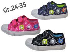 CANVAS Hausschuhe Kinder Stoff Schuhe Textil Sneaker Kindergarten Neu @2326/2368