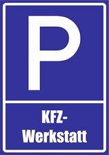 paf0045 garage-voiture PVC, Aludibond, Autocollant, Panneaux de stationnement