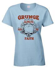 GRUNGE T-shirt femme années 90 rockeur Punk Seattle Punk