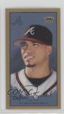 2003 Topps 205 Mini Polar Bear Back #299 Rafael Furcal Atlanta Braves Card