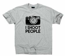 I Shoot People Photographer Funshirt Fun T-Shirt Fotograf Fotografieren Foto