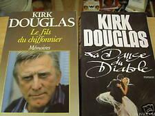 kirk douglas  le fils du chiffonier /la danse du diable