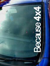 Porque 4x4 Automóvil Pegatinas Calcomanías JDM DUB EURO VW 4x4 Alcance Land Rover Off Road