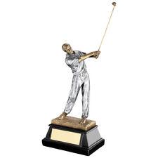 DE SPORT SWING Shot golf trophée GOLFEUR CLUB OR ARGENT récompense -