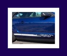 2005 2014 Mustang 3 Pony Running Rocker stripes Stripe Graphics Set Decals Decal