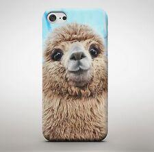Cara De Alpaca Lindo llama emperador nuevo Groove Peludo Animal Adorable Cubierta Estuche Teléfono