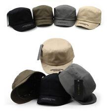 Unisex Mens Bendable Short Visor Velcroed Army Military Cadet Cap Trucker Hats