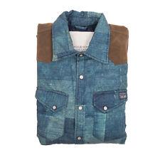 Uomo Giubbotto Ralph Lauren Blu Jeans
