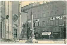 CARTOLINA d'Epoca: ROMA Citta': HOTEL MINERVA