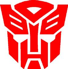 LARGE  Transformer Autobot Auto bot Sticker Decal Vinyl Logo many Sizes 047