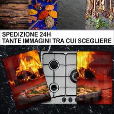 Copri Piano Cottura Fornelli Pannello Induzione Coprifornelli in vetro temperato