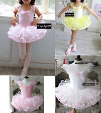 Vestito Tutù Saggio Danza Bambina Girl Ballet Tutu Dancer Dress - DANC004