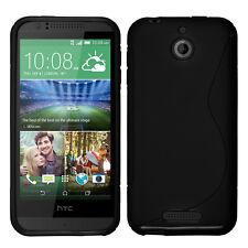 Schutz Hülle für HTC Desire 510 TPU Silikon Flip Case Cover Etui Schale