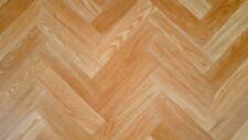 PVC (4€/m²) CV Bodenbelag Fisch Eiche Holz 2 Meter breite