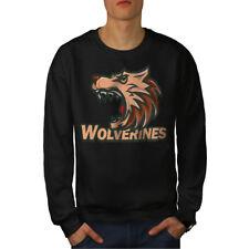 Wolverine Beast Animal Men Sweatshirt NEW | Wellcoda