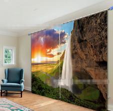 3D Sunset 472 Blockout Photo Curtain Printing Curtains Drapes Fabric Window UK