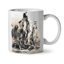 Native American Ride NUOVO White Tea Tazza da caffè 11 OZ | wellcoda