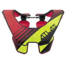 Atlas Air Brace Neck Protector Radioactive Red/Yellow