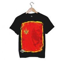Zoonamo Montenegro Classic T-Shirt Schwarz Sommer Shirt Black